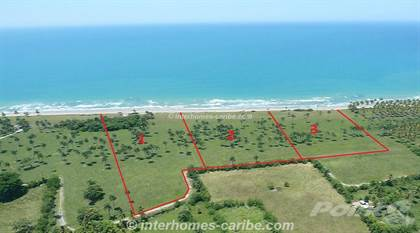 Lots And Land for sale in LAS CAÑAS: 3x LOTS WITH 125 m SEAFRONT - CURRENT PRICE REDUCTION, Las Canas, Espaillat