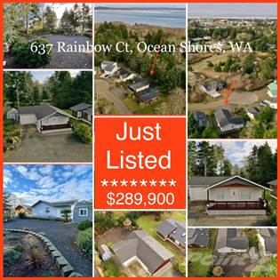 Residential Property for sale in 637 Rainbow Ct NE, Ocean Shores, WA, 98569