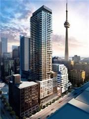 Condo for rent in 87 Peter St 1707, Toronto, Ontario