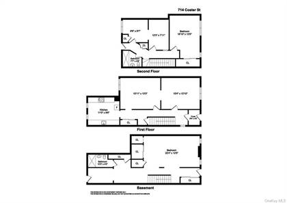 Multifamily for sale in 714 Coster Street, Bronx, NY, 10474