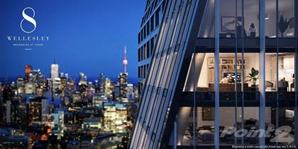Condominium for sale in 8 Wellesley Condos - Yonge and Wellesley. VIP Insider Access, Toronto, Ontario, M4Y1E7