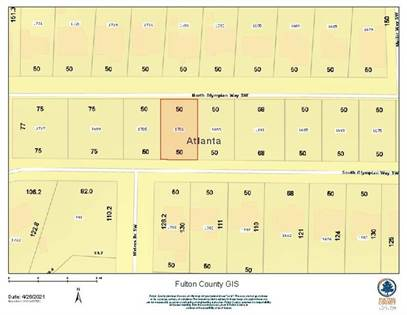 Lots And Land for sale in 1701 S Olympian Way, Atlanta, GA, 30310