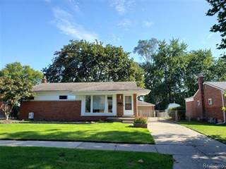 Single Family for rent in 19470 HARDY Street, Livonia, MI, 48152