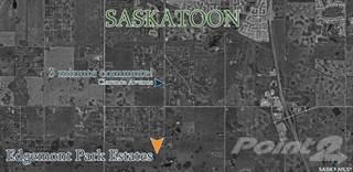 Land for sale in 6 Edgemont Park Estates, Corman Park, Saskatchewan