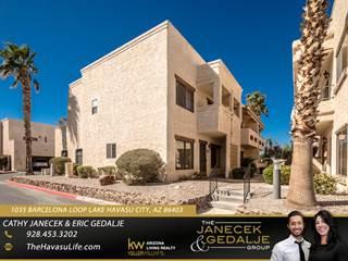 Townhouse for sale in 1035 Barcelona Loop, Lake Havasu City, AZ, 86403