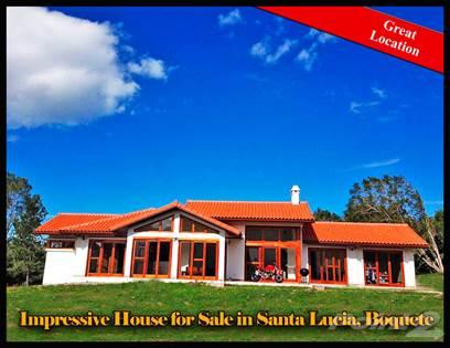 Residential Property for sale in Impresionante Casa en Venta o Alquiler en Deseable Santa Lucía, Boquete, Boquete, Chiriquí