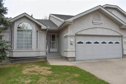 Single Family for sale in 303 TWIN BROOKS DR NW 45, Edmonton, Alberta, T6J6V3