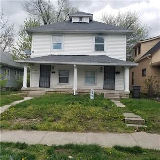 Residential Property for rent in 1315 North OLNEY Street, Indianapolis, IN, 46201