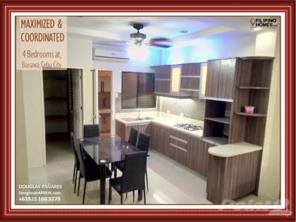 Residential Property for sale in Be Sanitized and Well Arranged in this Furnished 4-Bedroom Townhouse in Banawa, Cebu City, Cebu City, Cebu