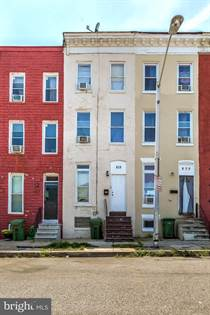 Residential Property for sale in 828 N STRICKER STREET, Baltimore City, MD, 21217