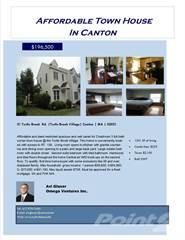 Condo for sale in 31 Turtle Brook Rd, Canton, MA, 02021