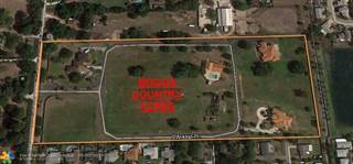 Land for sale in 01 SW 75 Circle, Davie, FL, 33328