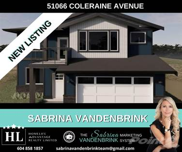 Residential Property for sale in 51066 COLERAINE AVENUE, Chilliwack, British Columbia, V4Z 0C1