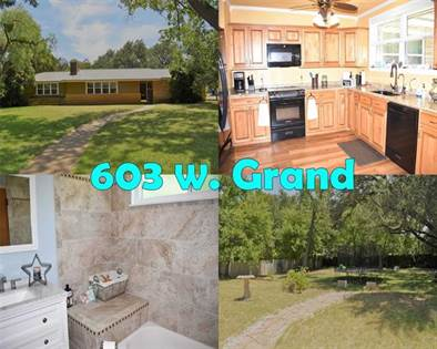 Residential Property for sale in 603 Grand Avenue, Brady, TX, 76825