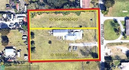 Lots And Land for sale in 4111 SW 53rd Ave, Davie, FL, 33314