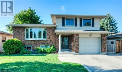 Single Family for sale in 218 HAZELGLEN Drive, Kitchener, Ontario, N2M2E5