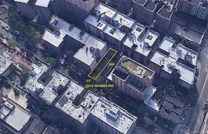 Multifamily for sale in 2076 Morris Avenue, Bronx, NY, 10453