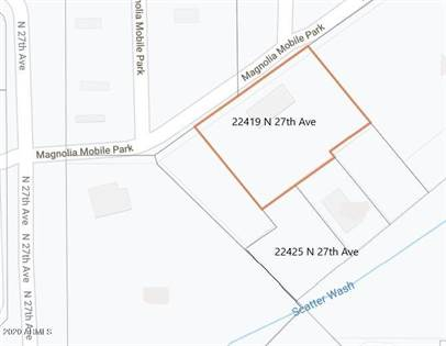 Lots And Land for sale in 22425 N 27TH Avenue, Phoenix, AZ, 85027