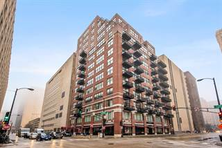 Residential for sale in 547 South CLARK Street 1203, Chicago, IL, 60605