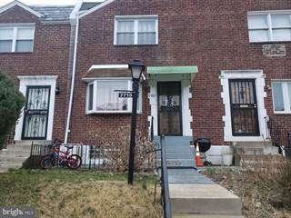 Townhouse for sale in 7710 GILBERT STREET, Philadelphia, PA, 19150