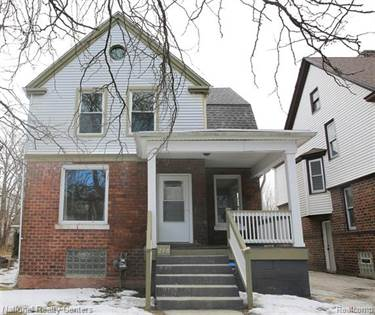 Residential Property for sale in 296 HOLBROOK Street, Detroit, MI, 48202