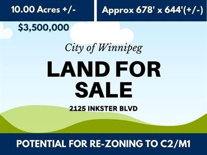Vacant Land for sale in 2125 Inkster BLVD, Winnipeg, Manitoba, R2W0J3