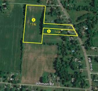 Lots And Land for sale in 3221 Troy Road, Springfield, OH, 45504