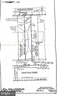 Lots And Land for sale in 2209 SAINT PAUL STREET, Baltimore City, MD, 21218