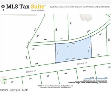 Lots And Land for sale in 103 Lenape Lane, Buck Hill Falls, PA, 18323