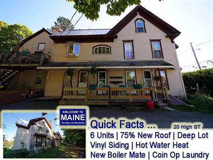 Multifamily for sale in 20 High Street, Houlton, ME, 04730
