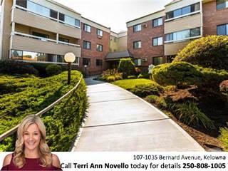 Apartment for sale in 1035 Bernard Avenue, Kelowna, British Columbia, v1y6p7