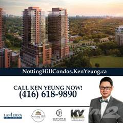 Condo for sale in Notting Hill Condos, Toronto, Ontario, M9A 4M2