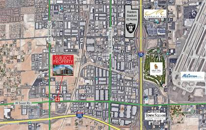 Industrial for sale in 4750 West Sunset Road, Las Vegas, NV, 89118