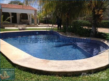 Large Pool Home With Guest House For Sale In Cholul Merida Yucatan