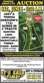 Lots And Land for sale in 1 Stoner Creek Road, Elk Horn, KY, 42718