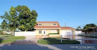 Single Family for rent in 17701 SW 112th Pl, Miami, FL, 33157