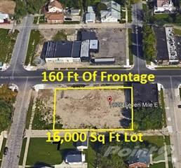 Land for sale in 7026 e seven mile, Detroit, MI, 48234