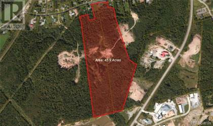 Vacant Land for sale in 692-694 Old Hampton Road, Quispamsis, New Brunswick, E2G1E9