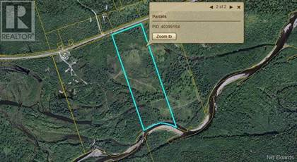 Vacant Land for sale in LOT Route 108, Renous - Quarryville, New Brunswick