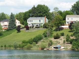 Single Family for sale in 19463 SCENIC HARBOUR Drive, Northville, MI, 48167