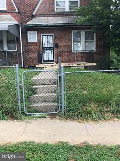 Residential Property for rent in 3432 W CATON AVENUE, Baltimore City, MD, 21229