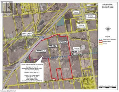 Vacant Land for sale in 3226 WESTMINSTER Drive, London, Ontario, N6H1S5