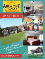 Residential for sale in 489 Deatsville Road, Deatsville, KY, 40013