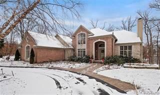 Single Family for sale in 4880 DOW RIDGE Road, Orchard Lake Village, MI, 48324