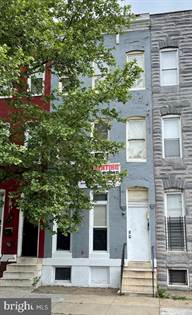 Multifamily for sale in 1432 N FULTON AVENUE, Baltimore City, MD, 21217