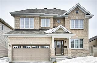 Residential Property for sale in 74 Ginseng Terr, Ottawa, Ontario, K2V 0B5