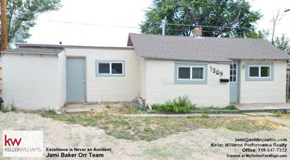 Residential Property for sale in 1309 Jackson St, Pueblo, CO, 81004