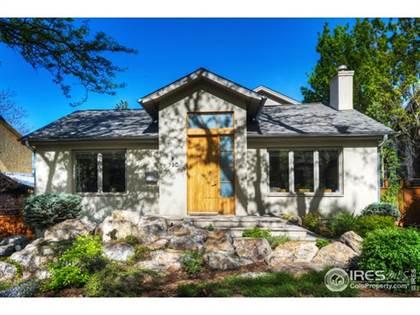 Residential Property for sale in 780 Grant Pl, Boulder, CO, 80302