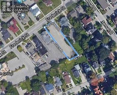 Vacant Land for sale in 237 FREDERICK Street, Kitchener, Ontario, N2H2M7