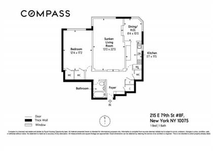 Residential Property for sale in 215 East 79th Street 8-F, Manhattan, NY, 10075